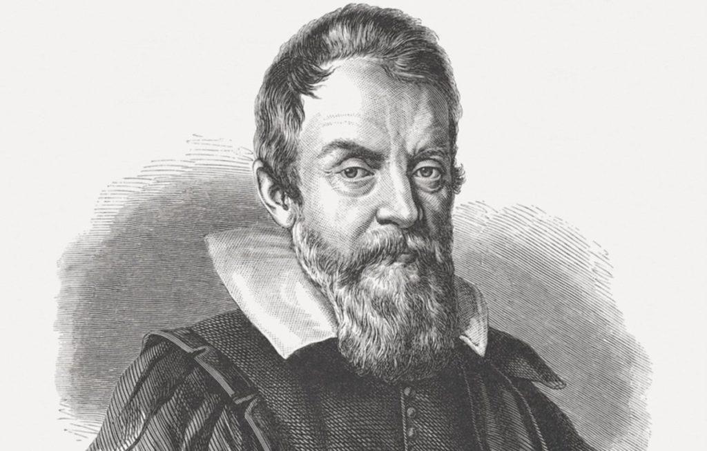 Галиллео Галилей портрет